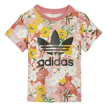 Abbigliamento Bambina T-shirt maniche corte adidas Originals DREZZI Multicolore