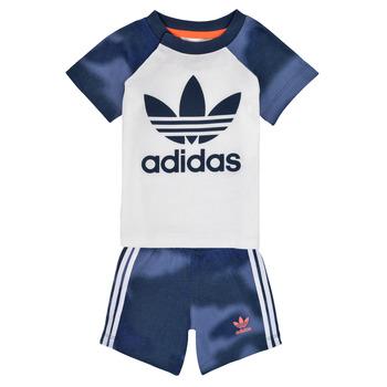 Abbigliamento Bambino Completo adidas Originals GN4110 Bianco