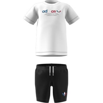 Abbigliamento Unisex bambino Completo adidas Originals GN7413 Bianco