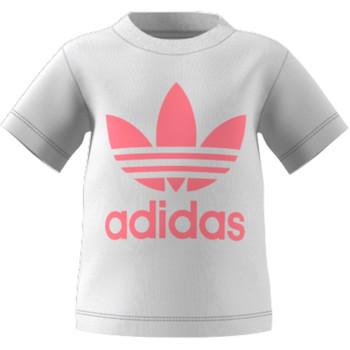 Abbigliamento Unisex bambino T-shirt maniche corte adidas Originals GN8175 Bianco