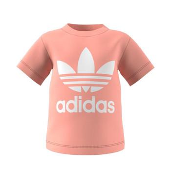 Abbigliamento Unisex bambino T-shirt maniche corte adidas Originals GN8176 Bianco