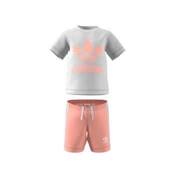 Abbigliamento Unisex bambino Completo adidas Originals GN8192 Bianco