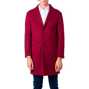 Abbigliamento Uomo Cappotti Over-D OM215CP Rosso