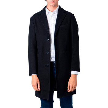 Abbigliamento Uomo Cappotti Over-D OM215CP Nero