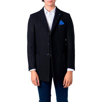 Abbigliamento Uomo Cappotti Over-D OM230CP Nero