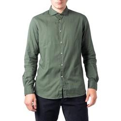 Abbigliamento Uomo Camicie maniche lunghe Idra BU21W04CA Verde