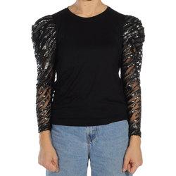 Abbigliamento Donna T-shirts a maniche lunghe Jijil T-SHIRT ML DONNA TS181/0JE0002 137 Nero