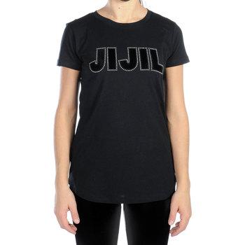 Abbigliamento Donna T-shirt maniche corte Jijil T-SHIRT MC DONNA TS235/0JE0081 082 Nero