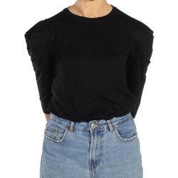 Abbigliamento Donna T-shirts a maniche lunghe Jijil T-SHIRT MC DONNA TS395/0JE0002 002 Nero