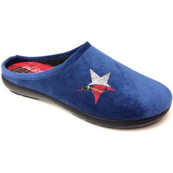 Scarpe Donna Pantofole Flexi's ATRMPN-23198 Blu