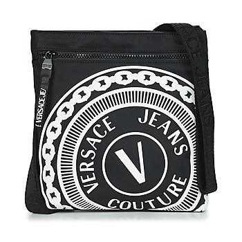 Borse Uomo Pochette / Borselli Versace Jeans Couture SOLEDA Nero / Bianco