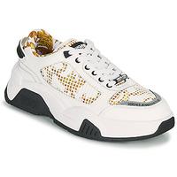 Scarpe Uomo Sneakers basse Versace Jeans Couture HATINA Bianco / Oro