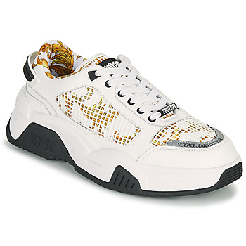 Scarpe Uomo Sneakers basse Versace Jeans Couture HATINA Bianco / Oro