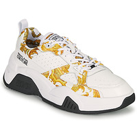 Scarpe Donna Sneakers basse Versace Jeans Couture MINAFI Bianco / Oro