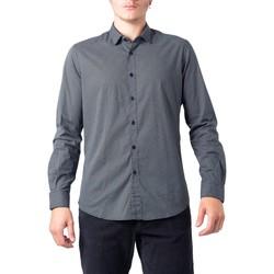 Abbigliamento Uomo Camicie maniche lunghe Idra BU21W11CA/FIO2121 Nero