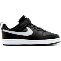 Scarpe Unisex bambino Sneakers basse Nike Court Borough Low 2 Psv Nero