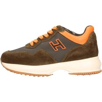 Scarpe Bambino Sneakers basse Hogan - Interactive h marrone HXC00N0V310JYCT02Z MARRONE
