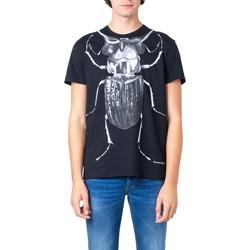 Abbigliamento Uomo T-shirt maniche corte McQ Alexander McQueen 573593 Nero