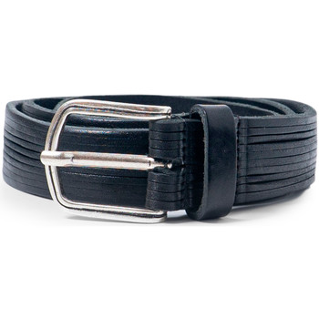 Accessori Uomo Cinture Hydra Clothing PLM07 Nero