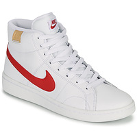 Scarpe Uomo Sneakers basse Nike COURT ROYALE 2 MID Bianco / Rosso