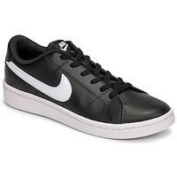 Scarpe Uomo Sneakers basse Nike COURT ROYALE 2 LOW Nero / Bianco