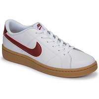 Scarpe Uomo Sneakers basse Nike COURT ROYALE 2 LOW Bianco / Rosso