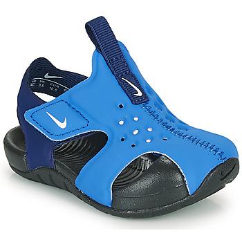 Scarpe Bambino ciabatte Nike SUNRAY PROTECT 2 TD Blu