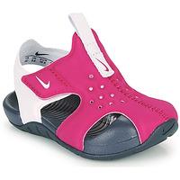 Scarpe Bambina ciabatte Nike SUNRAY PROTECT 2 TD Viola