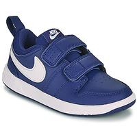Scarpe Bambino Sneakers basse Nike PICO 5 PS Blu / Bianco