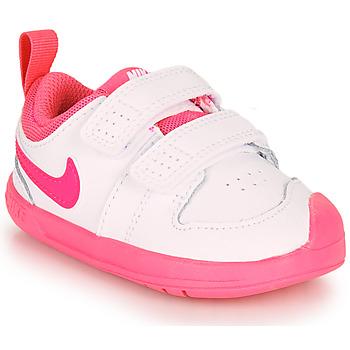 Scarpe Bambina Sneakers basse Nike PICO 5 TD Bianco / Rosa