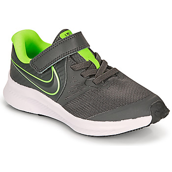Scarpe Bambino Multisport Nike STAR RUNNER 2 PS Grigio / Verde