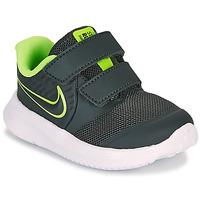 Scarpe Bambino Multisport Nike STAR RUNNER 2 TD Nero / Verde