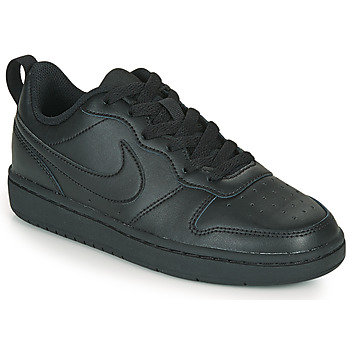 Scarpe Unisex bambino Sneakers basse Nike COURT BOROUGH LOW 2 GS Nero