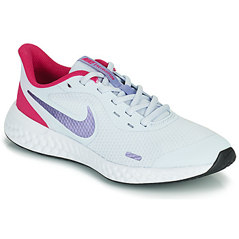 Scarpe Bambina Multisport Nike REVOLUTION 5 GS Blu / Viola