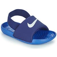 Scarpe Bambino ciabatte Nike NIKE KAWA TD Blu