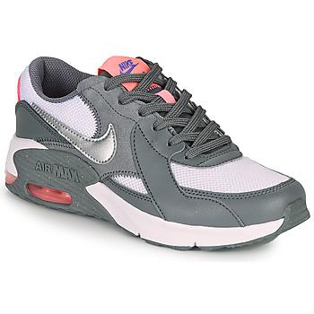 Scarpe Bambina Sneakers basse Nike AIR MAX EXCEE GS Grigio / Rosa