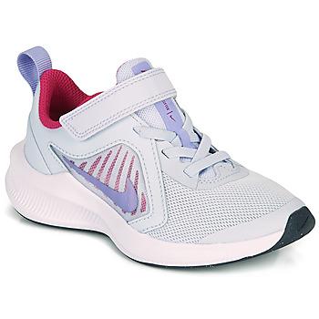 Scarpe Bambina Multisport Nike DOWNSHIFTER 10 PS Blu / Viola