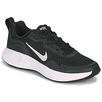 Scarpe Unisex bambino Multisport Nike WEARALLDAY GS Nero / Bianco