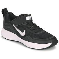 Scarpe Unisex bambino Multisport Nike WEARALLDAY PS Nero / Bianco