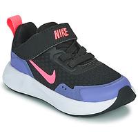 Scarpe Bambina Multisport Nike WEARALLDAY TD Nero / Blu