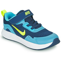 Scarpe Bambino Multisport Nike WEARALLDAY TD Blu / Verde