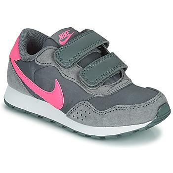 Scarpe Bambina Sneakers basse Nike MD VALIANT PS Grigio / Rosa