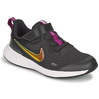 Scarpe Bambina Sneakers basse Nike REVOLUTION 5 SE PS Nero