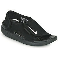Scarpe Unisex bambino ciabatte Nike SUNRAY ADJUST 5 V2 PS Nero