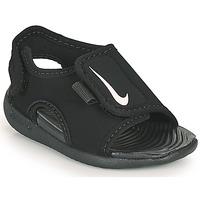 Scarpe Unisex bambino ciabatte Nike SUNRAY ADJUST 5 V2 TD Nero