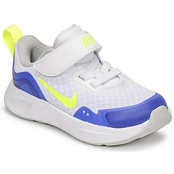 Scarpe Unisex bambino Multisport Nike NIKE WEARALLDAY Bianco / Blu / Verde