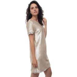 Abbigliamento Donna Abiti corti Luckylu 29LL-AB40PT0942 Oro