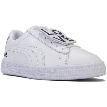 Scarpe Bambina Sneakers basse adidas Originals ATRMPN-23225 Bianco