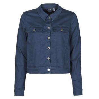Abbigliamento Donna Giacche in jeans Vero Moda VMHOTSOYA Marine