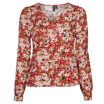 Abbigliamento Donna Camicie Vero Moda VMSIMPLY EASY Rosso
